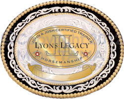 Josh lyons Certification Buckle