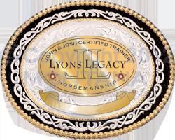 Josh lyons Certification Buckle