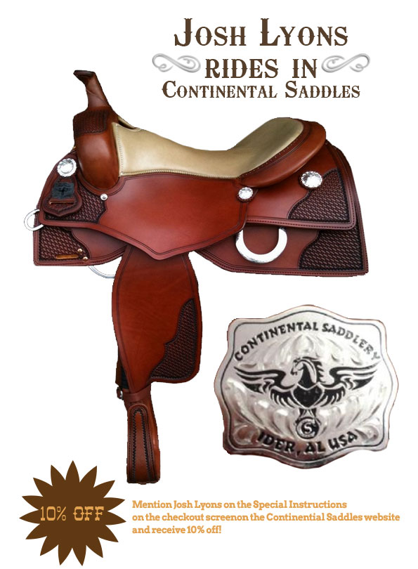 Continental Saddles – Lyons Legacy