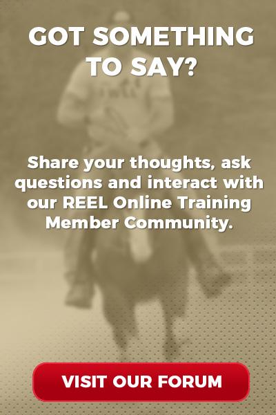 REEL Online Training Member Forum Graphic